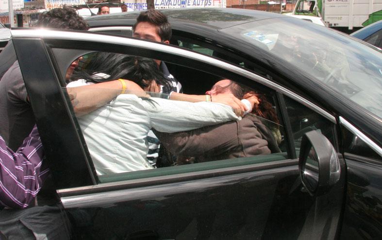 Un remisero y un taxista, hospitalizados luego de peleas de tránsito
