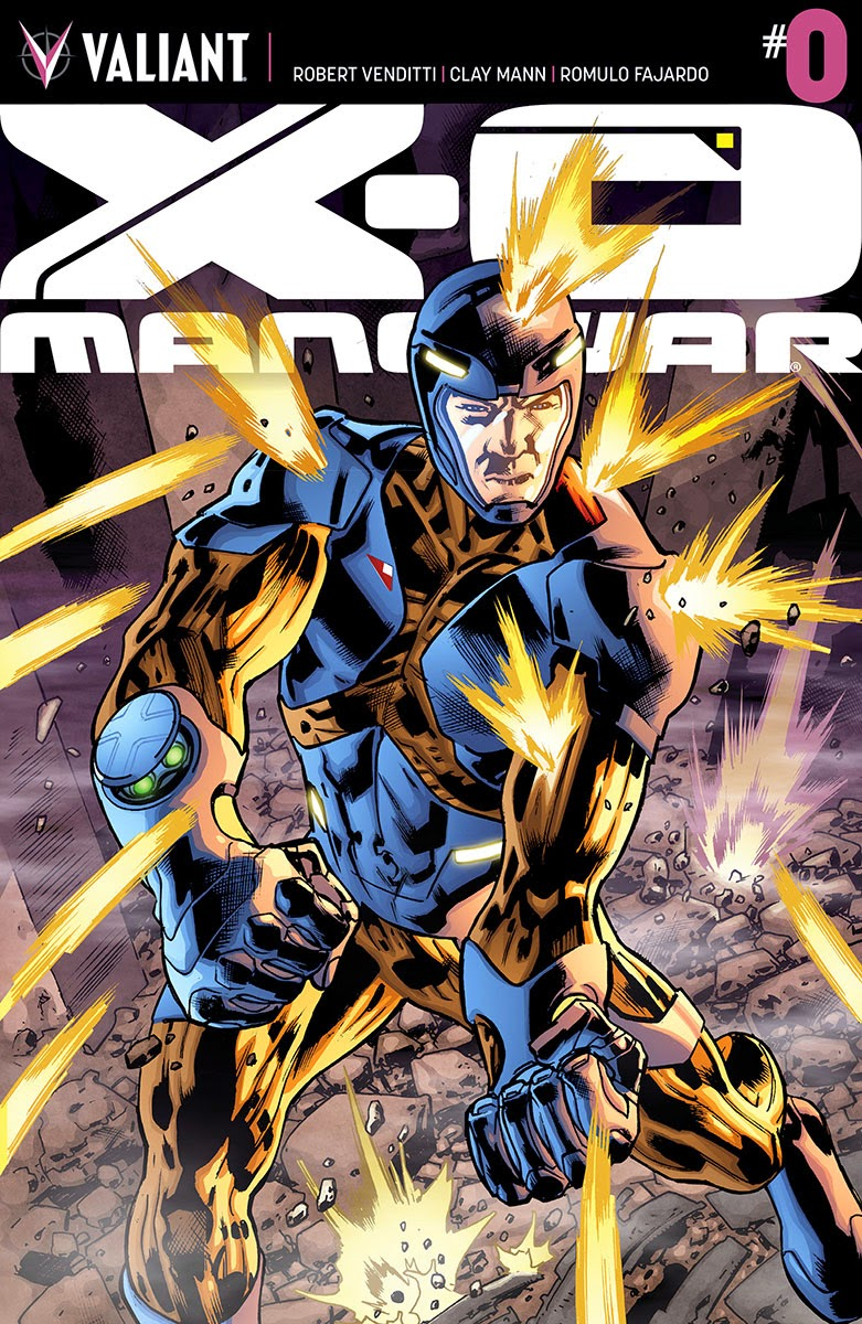 Valiants  X-O MANOWAR #0 Cover Art Preview