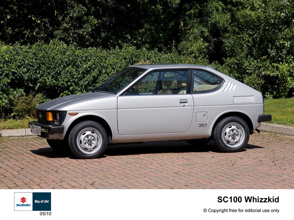 suzuki sc100, dawne samochody, auta z lat 80, klasyki, zdjęcia