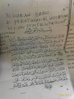 Naskah Al Qur'an Palsu Hadasari