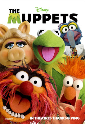 The Muppets Portrait Movie Poster Set - Miss Piggy, Animal, Kermit the Frog, Gonzo & Beaker