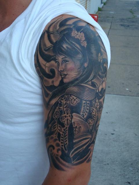 geisha tattoos Fresh Ideas