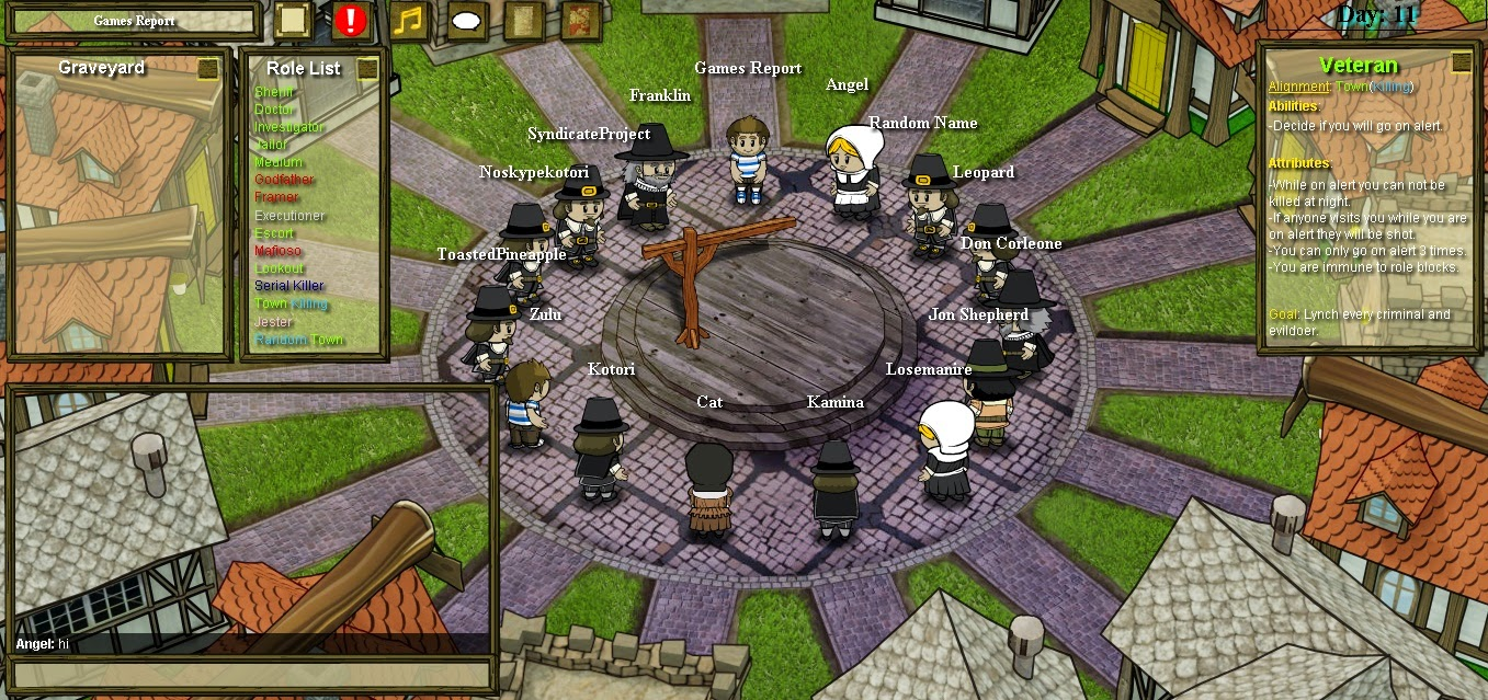 Town of Salem Morgen