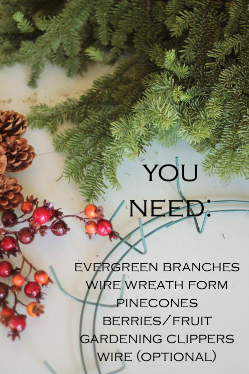 Evergreen Wreath Diy Archives Girl Inspired