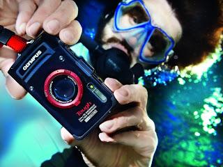 Olympus TG-2 camera, underwater digital camera