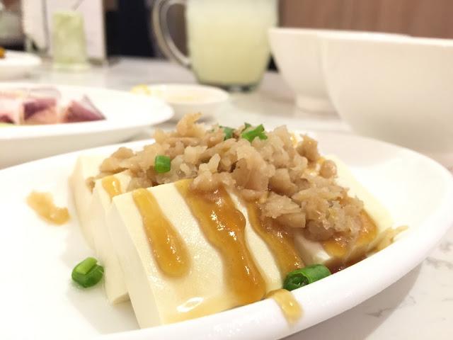ChaoZhou Porridge - Cold Bean Curd with Preserved Radish (菜脯拌豆腐)