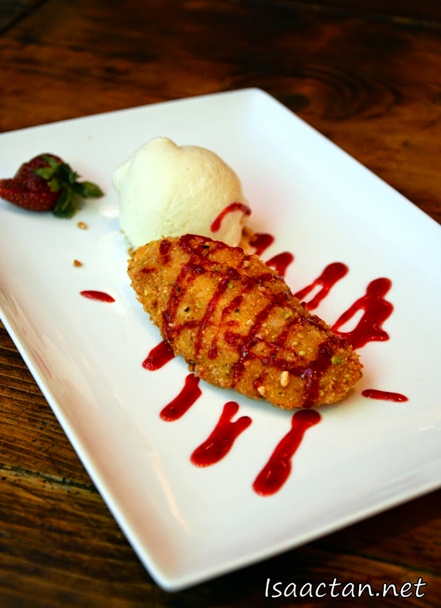 #8 Dessert - Mango Crisp