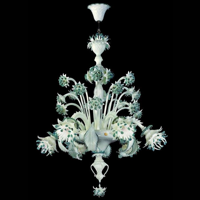 shabby chic lampadario : Pin Shabby Chic Atelier Myartistic Lampadario Murano Glass on ...