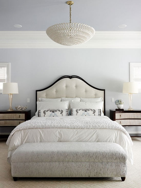 Modern furniture 2014 amazing master bedroom decorating ideas for Master bedroom black and white ideas