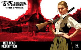 image d'une femme du jeu Red Dead Redemption