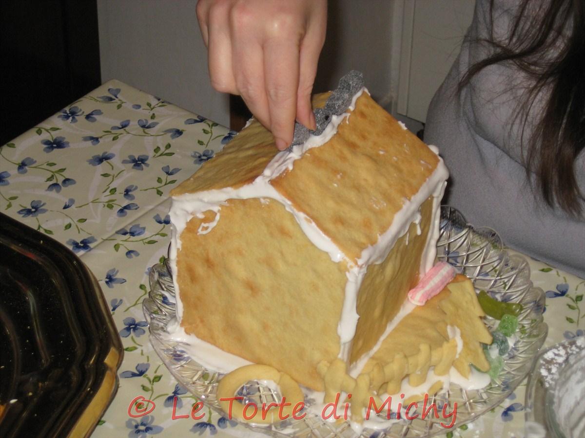 Casetta Di Natale Con Pasta Frolla : Casetta di pastafrolla pan di zenzero le torte di michy