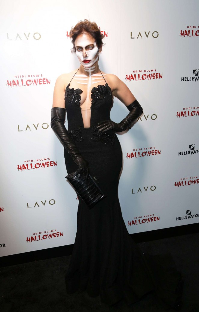 Jennifer Lopez goes spooky and sexy for Halloween Bash