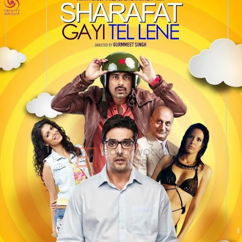 Sharafat Gayi Tel Lene (2015) Movie Poster No. 3