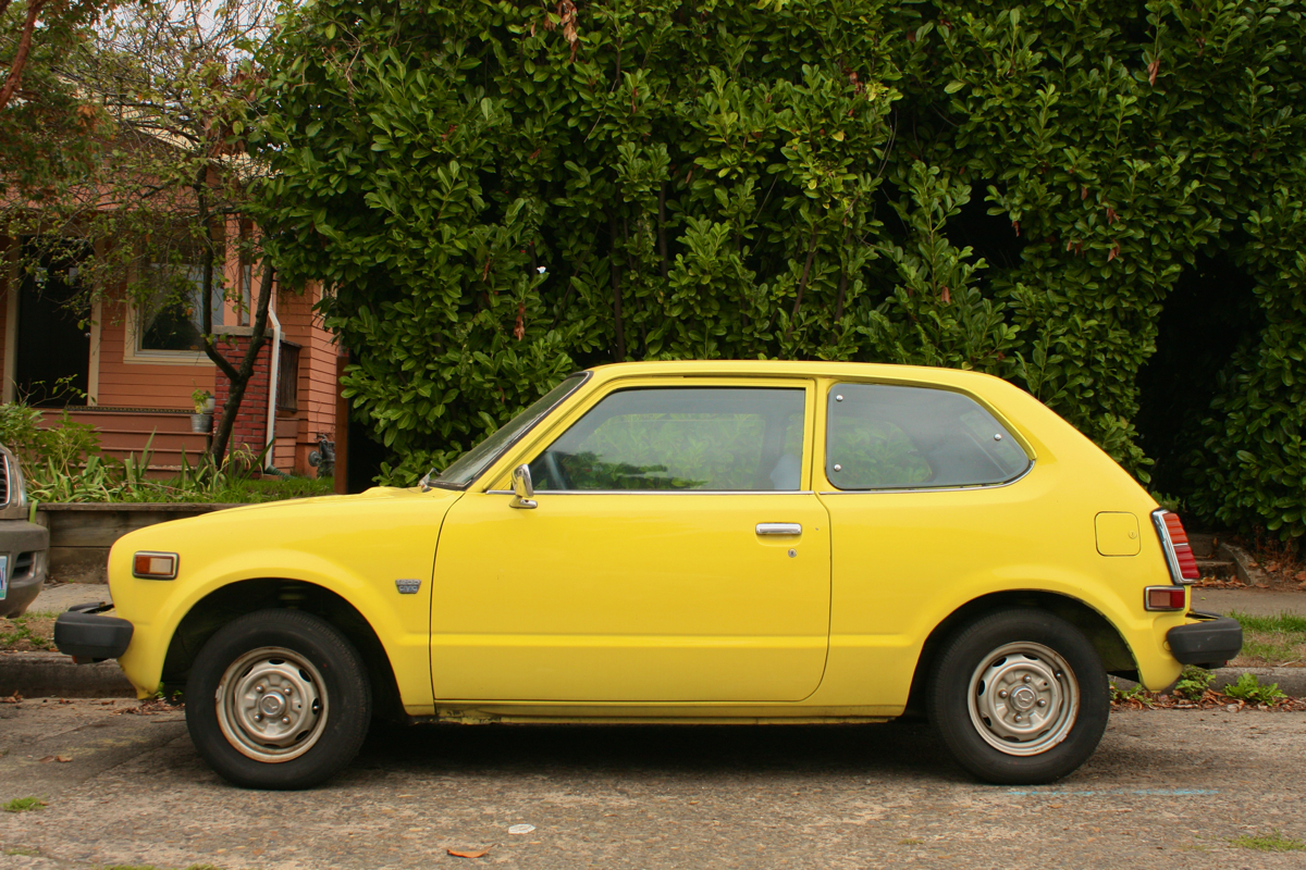 1979 Honda Civic 1200 hatchback.
