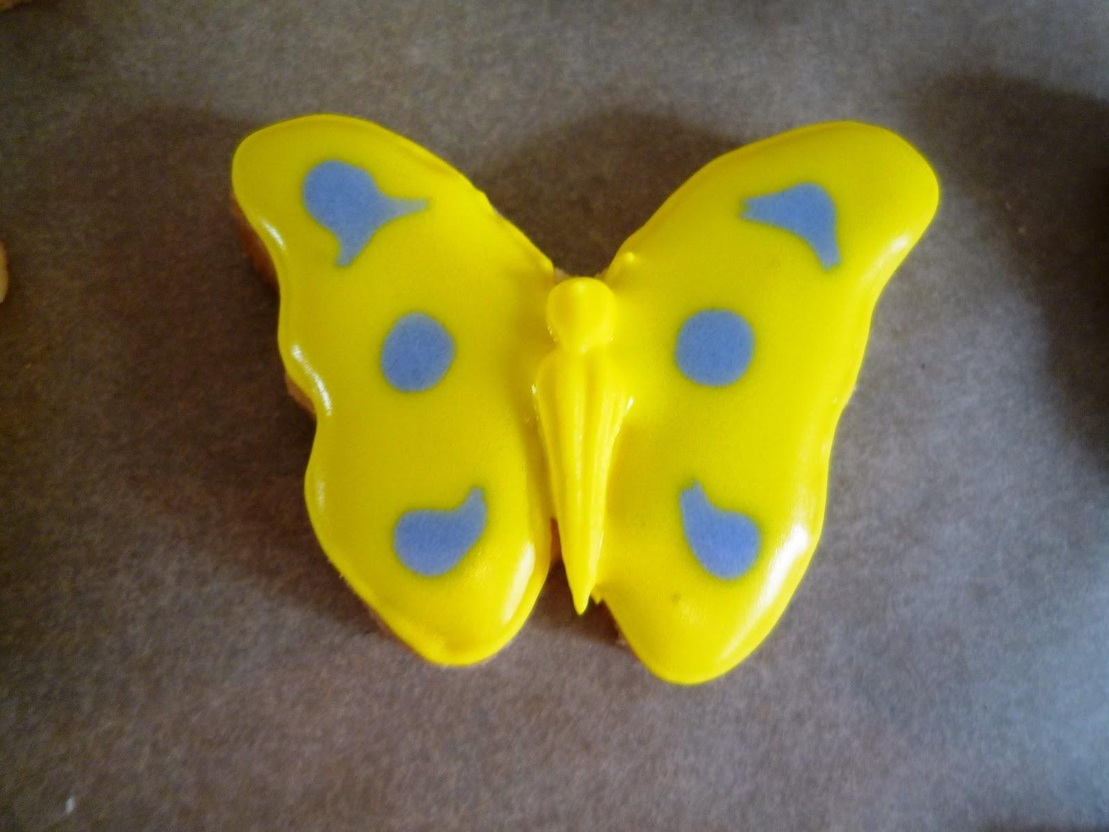 Schmetterlingskekse
