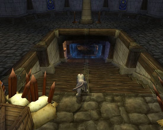 The Portal to the Stockades instance in world of warcraft