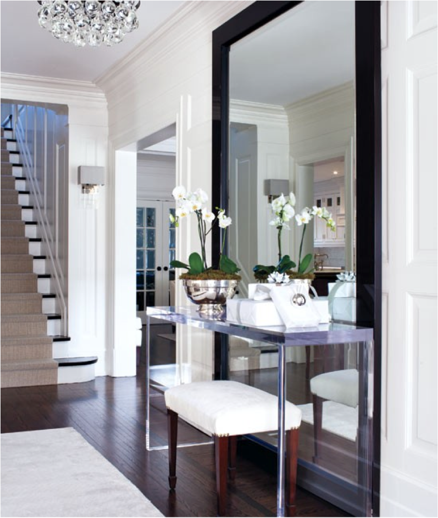 Foyer Mirror : Let s decorate online welcoming guests with an inviting foyer