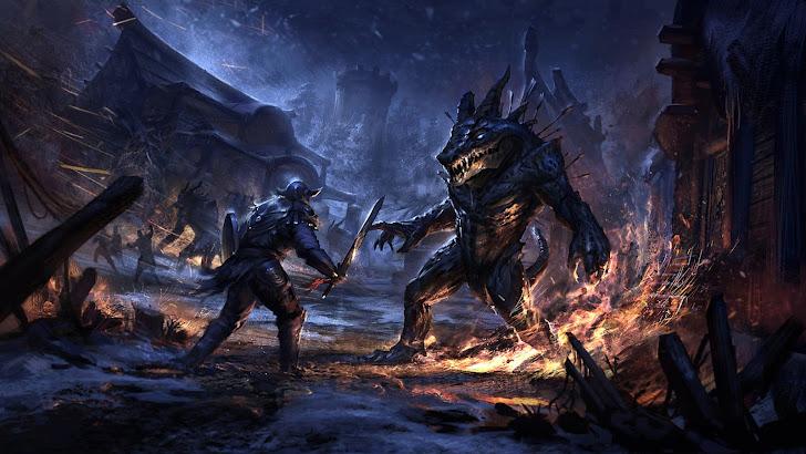 Elder Scrolls Online Fantasy Art 14
