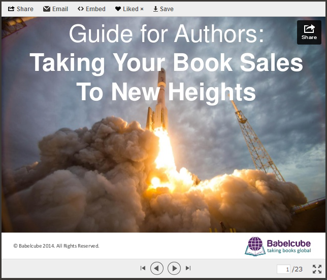 Guide for Authors: Taking Your Book Sales to New Heights