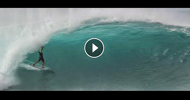 Excesso de ondas para o Pipe Masters e faz alegria do freesurf
