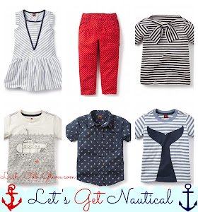 Let's get nautical! Discover the cutest summer fashion for kids.