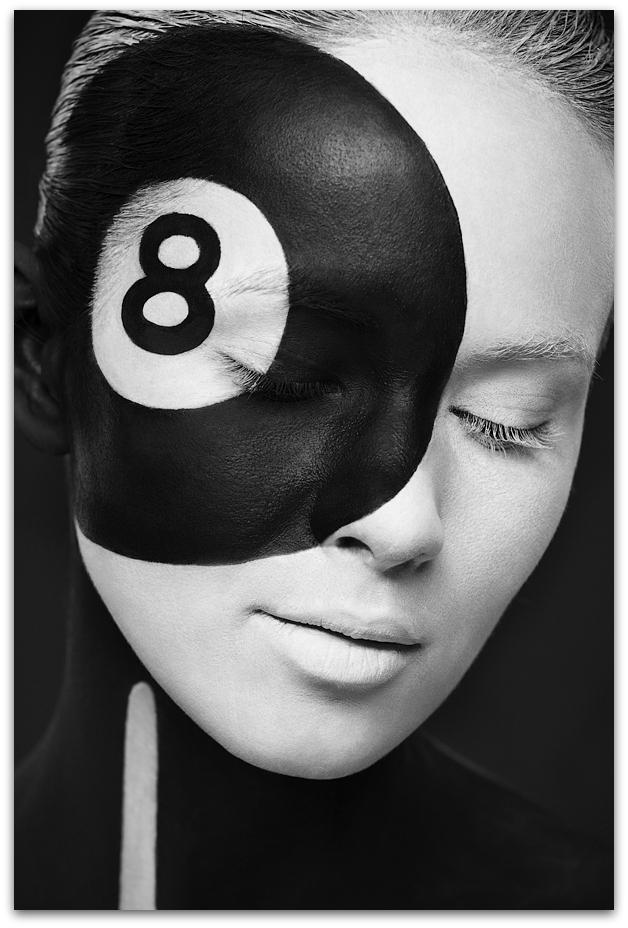Odd Black And White Art : Art symphony black white weird beauty