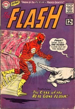 Flash #128 comic cover