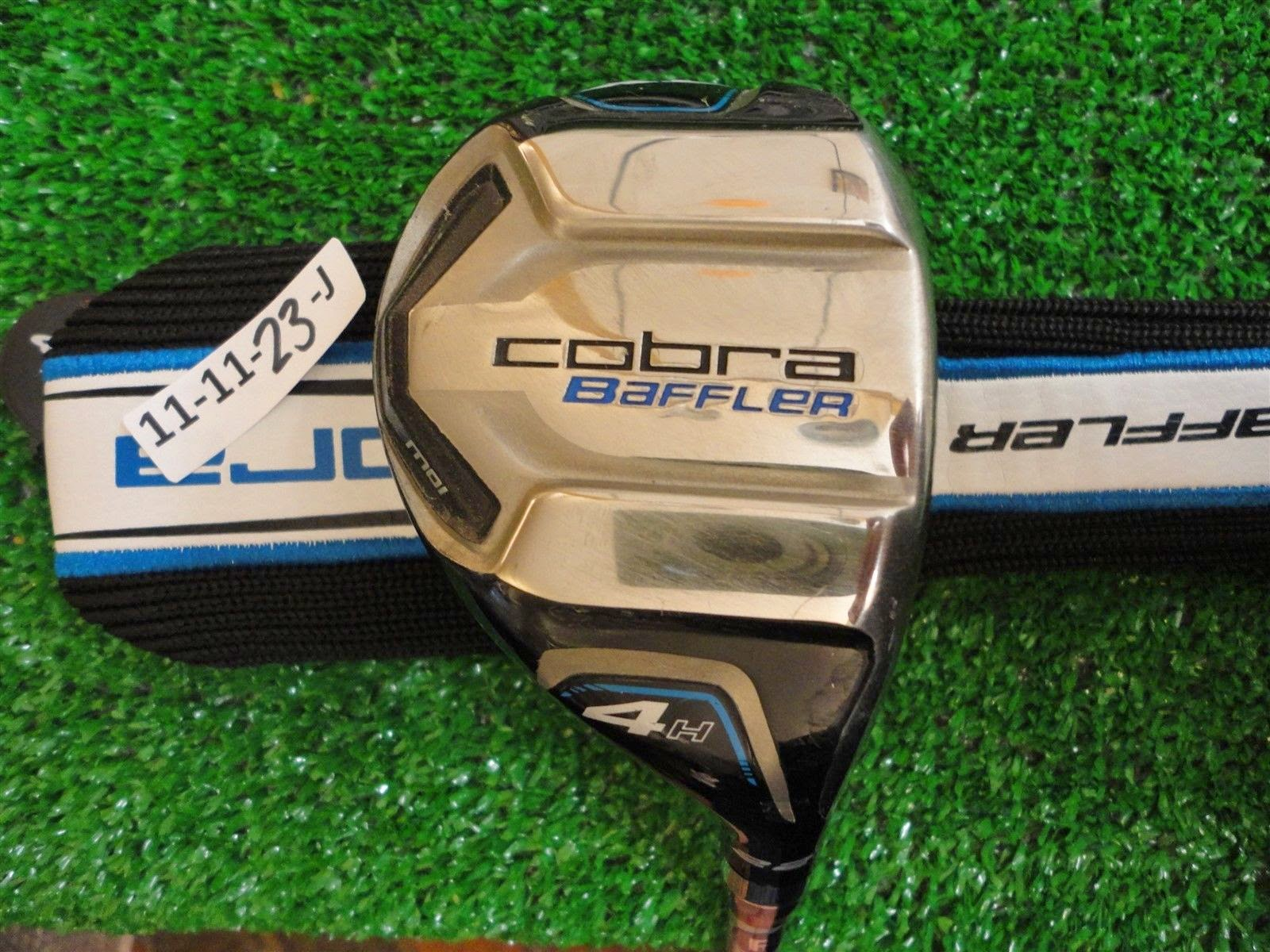 Cobra Baffler XL 22* 4 Hybrid Rescue 60g Regular Graphite with Headcover