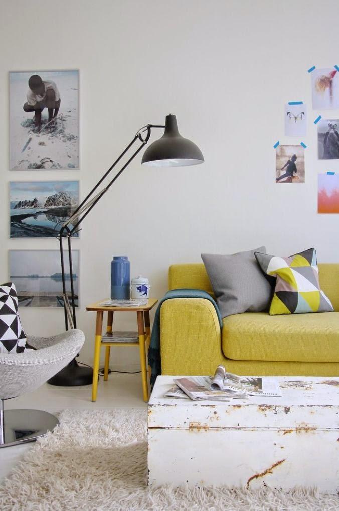 25 ideas de decoración de salas: que poner al lado del sofa
