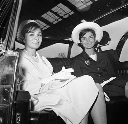 Jacqueline kennedy and shah of iran 1962 iran earth for Shah bano farah pahlavi