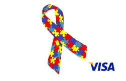 Autism Awareness Visa prepaid cards from CARD.com