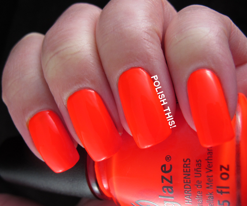 China Glaze Swatch Spam - Polish This!