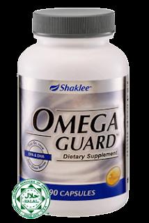 omegar guard shaklee, asma, lelah