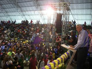 Guillén realiza multitudinario  acto en respaldo a sus aspiraciones a la alcaldía municipal de San Cristóbal