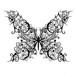 desenho de tatuagem tribal