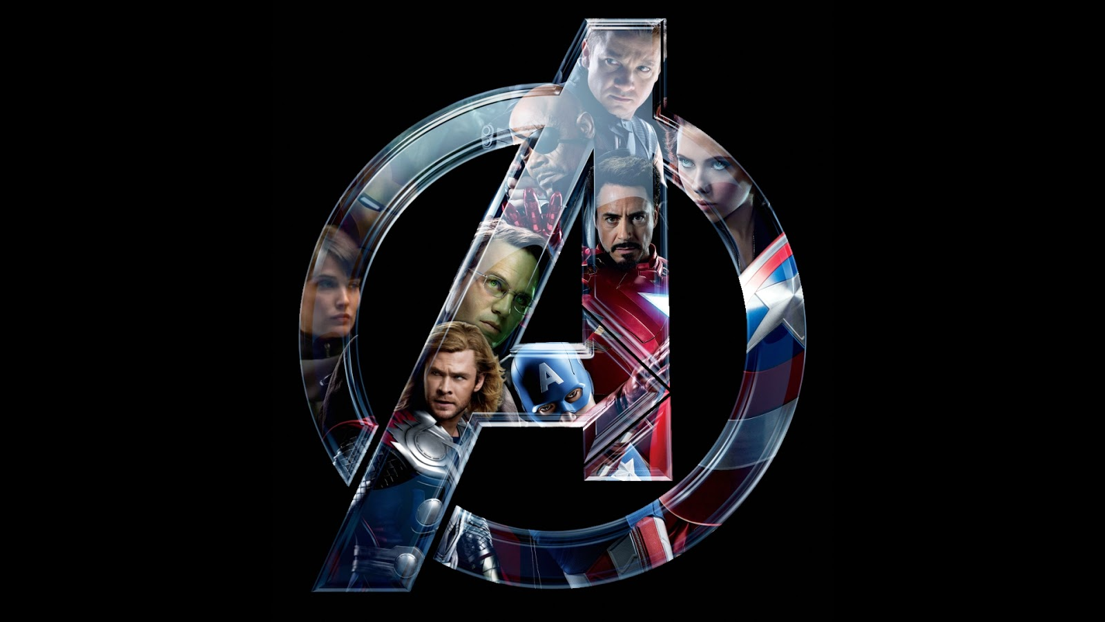 HD Avengers Wallpaper Team Logo
