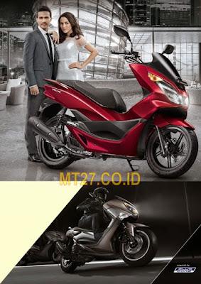 Perbandingan Antara Yamaha NMax dan Honda PCX