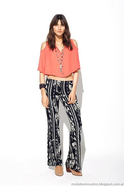 MAB primavera verano 2015 pantalones de verano.