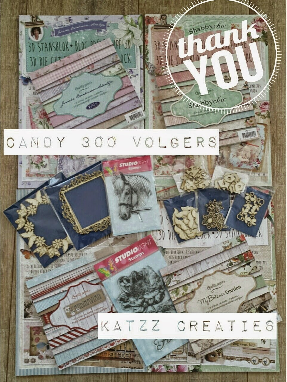 Super gave candy bij Katzz creaties!