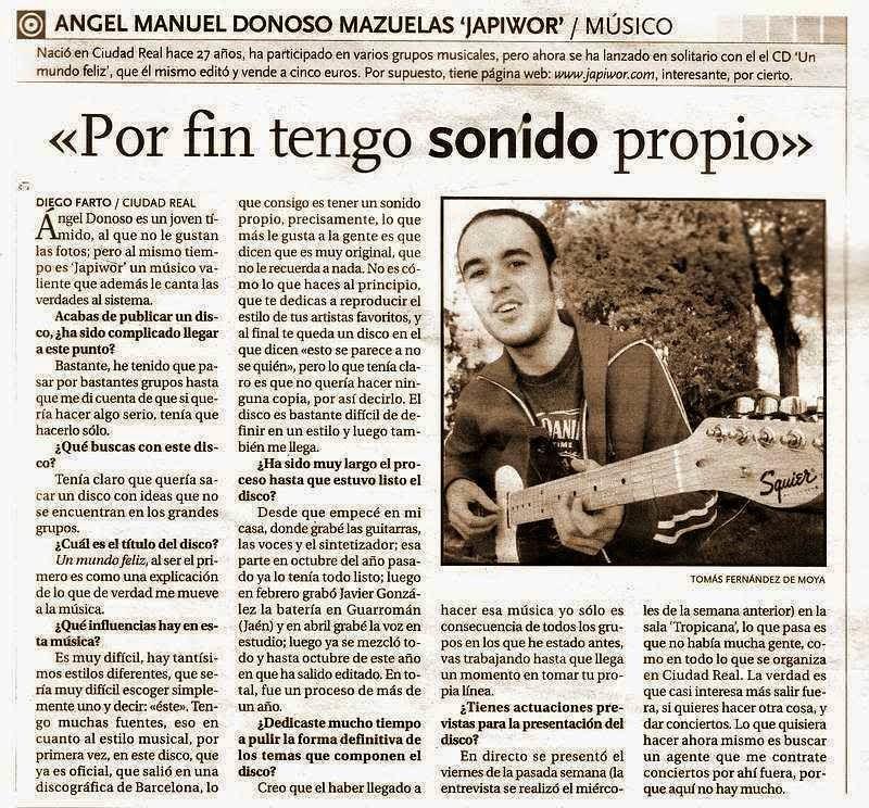 24/11/2004 LA TRIBUNA DE CIUDAD REAL