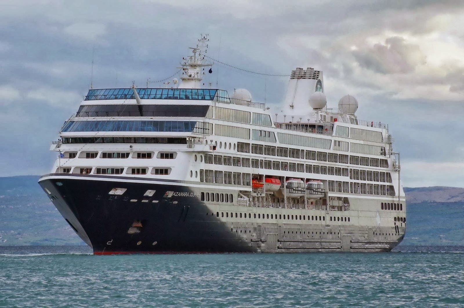Ships In Split Azamara Journey Cruise Ship 2000 IMO