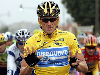 CICLISMO-Armstrong se queda sin sus 7 tours