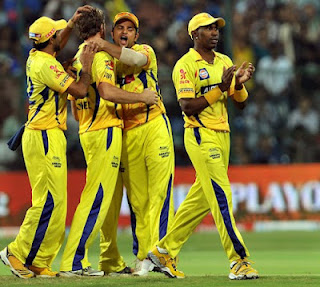 Chennai Super Kings Win