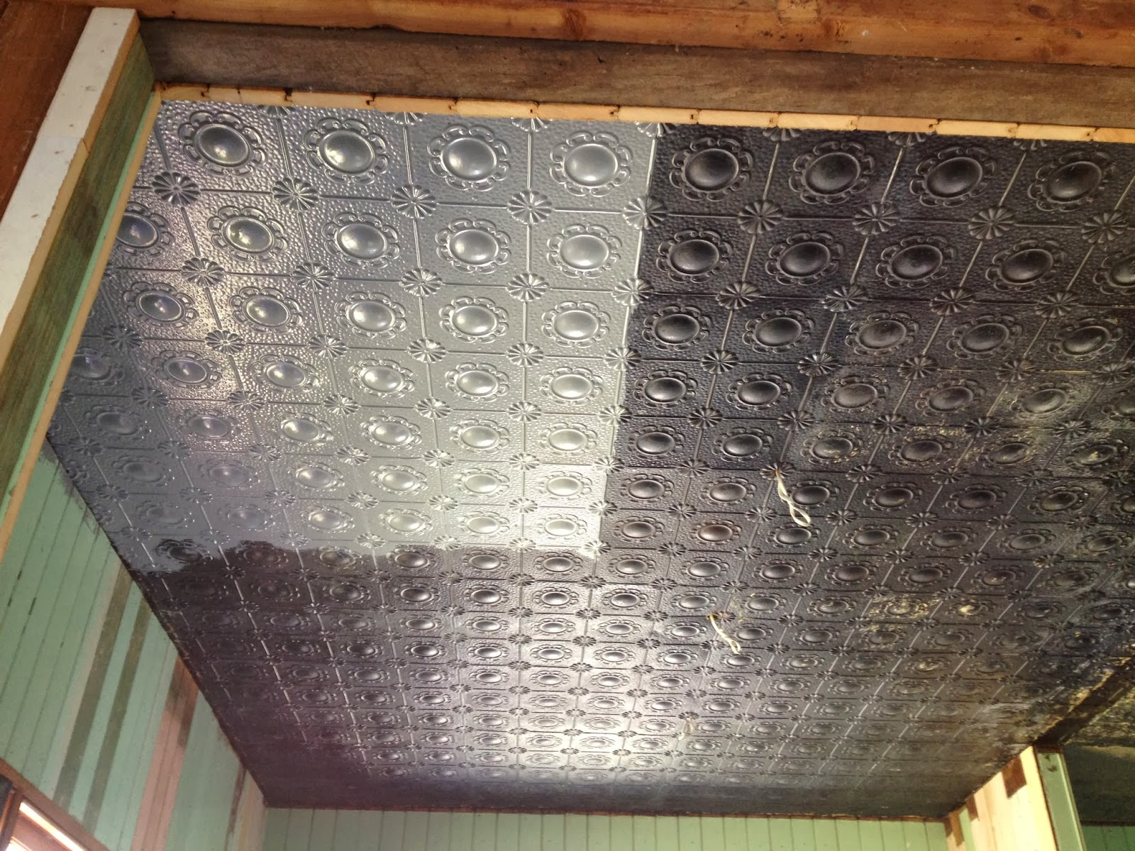 The old post office pressed metal ceiling restoration pt 2 pressed metal ceiling restoration pt 2 dailygadgetfo Image collections