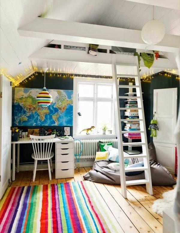 Dormitorios con cama en altillo dormitorios colores y - Altillos en habitaciones ...