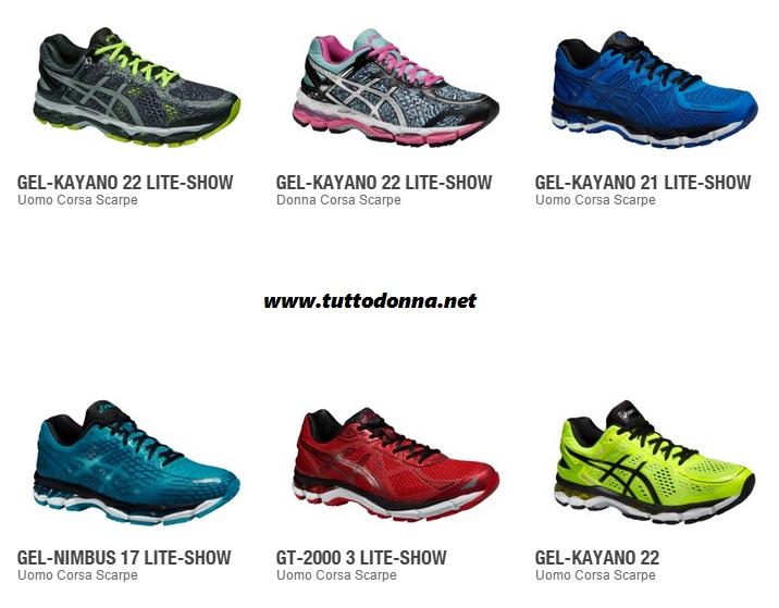 scarpe asics mezza maratona