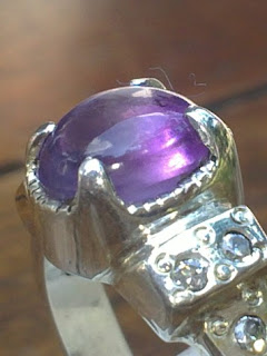 natural amethyst kecubung ungu