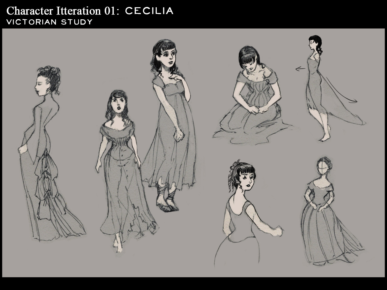 Dissonance (G.Suen FMP): Cecila- Victorian Anatomy study