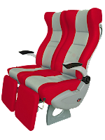 Rimba Kencana bus seats