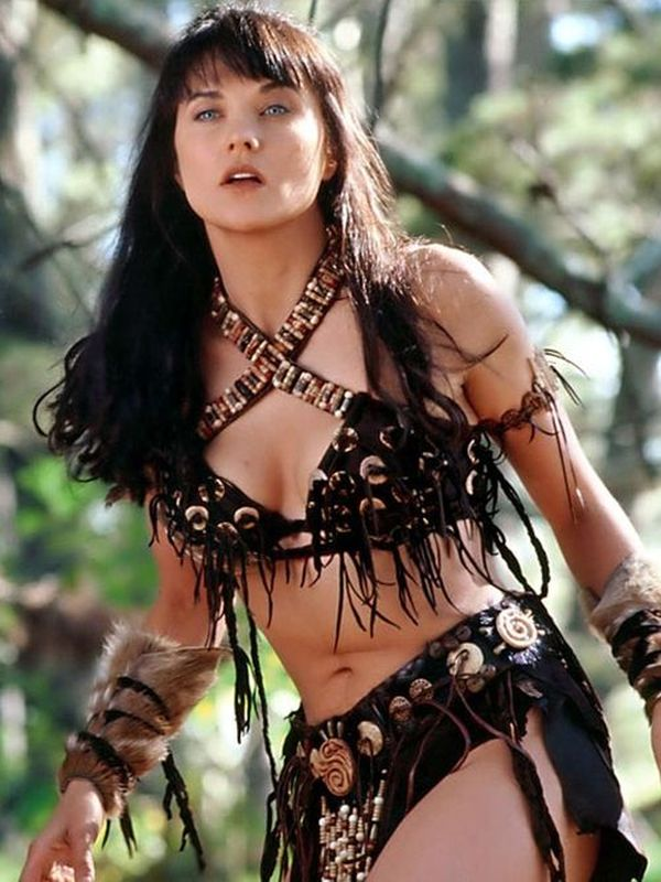 Lucy Lawless Ren E O Connor Two Inseparable Girls In Ena Warrior